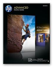 HP Q8696A szegély nélküli nyomtatáshoz,fényes, 13 x 18cm, 25