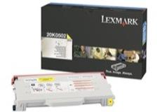 Lexmark 20K0502 sárga toner