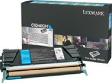 Lexmark C5240CH ciánkék toner