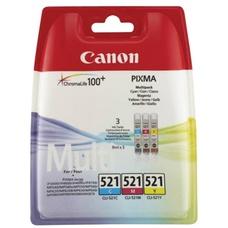 Eredeti Canon CLI-521 multipack (C,M,Y)