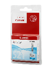 Eredeti Canon CLI-521C ciánkék patron
