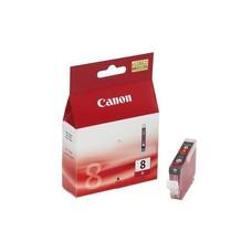 Eredeti Canon CLI-8R piros patron