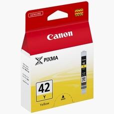 Eredeti Canon CLI-42Y sárga patron
