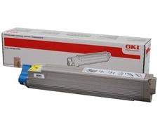 OKI 44036021 sárga toner