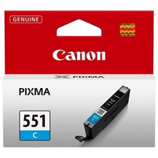 Eredeti Canon CLI-551C ciánkék patron