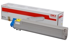 OKI 43837129 sárga toner