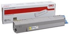 OKI 44059253 nagy kapacitású sárga toner