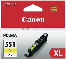 Eredeti Canon CLI-551YXL nagy kapacitású sárga patron