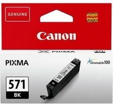 Eredeti Canon CLI-571BK fekete patron