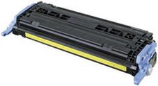 Utángyártott Q6002A sárga toner