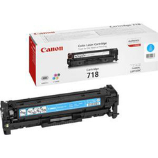 Eredeti Canon CRG 718 ciánkék toner