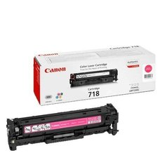 Eredeti Canon CRG 718 magenta toner