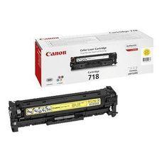 Eredeti Canon CRG 718 sárga toner