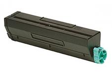 Utángyártott OKI-01103402 fekete toner