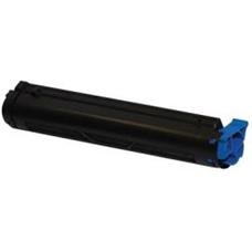 Utángyártott OKI-43502302 fekete toner