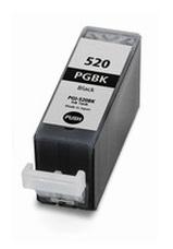 Utángyártott PGI-520BK fekete patron (chipes)