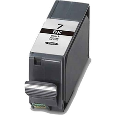 Utángyártott PGI-7BK fekete patron (chipes)