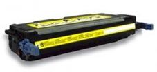 Utángyártott Q7562A sárga toner