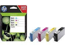 Eredeti HP 364XL nagy kapacitású színes csomag (4 színű) (N9J74AE)