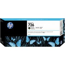 Eredeti HP 726 extra nagy kapacitású matt fekete patron (CH575A)