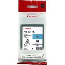 Eredeti Canon PFI-101PC foto ciánkék patron