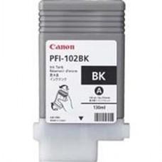 Eredeti Canon PFI-102BK fekete patron