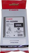 Eredeti Canon PFI-102MBK matt fekete patron