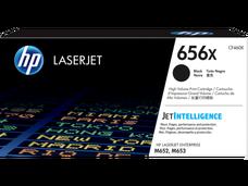 Eredeti HP 656X nagy kapacitású fekete toner (CF460X)