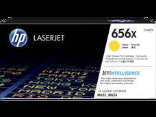 Eredeti HP 656X nagy kapacitású sárga toner (CF462X)