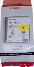 Eredeti Canon PFI-102Y sárga patron