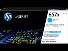 Eredeti HP 657X nagy kapacitású ciánkék toner (CF471X)