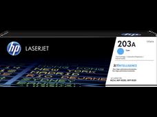 Eredeti HP CF541A ciánkék toner (203A)