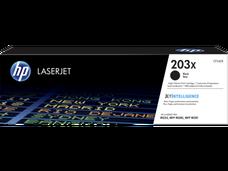 Eredeti HP CF540X nagy kapacitású fekete toner (203X)