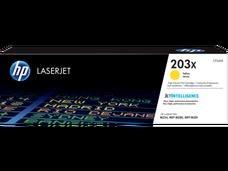 Eredeti HP CF542X nagy kapacitású sárga toner (203X)