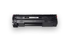 Utángyártott CF283A Fekete Toner