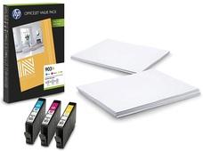 Eredeti HP 903XL színes csomag (HP 903XL ciánkék, magenta és sárga patron + papír)
