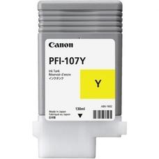 Eredeti Canon PFI-107Y sárga patron (130ml)