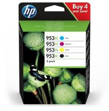 Eredeti HP 953XL multipack, nagy kapacitású (3HZ52AE)