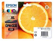 Epson 33XL mulitpack nagy kapacitású (1-1 db nagy kapacitású
