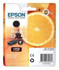 Epson 33XL nagy kapacitású fekete patron (12,2ml)