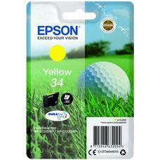 Eredeti Epson 34 sárga patron 4,2 ml (T3464)