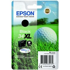 Eredeti Epson 34XL nagy kapacitású fekete patron 16,3 ml (T3471)