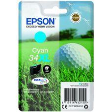 Eredeti Epson 34XL nagy kapacitású ciánkék patron 10,8 ml (T3472)