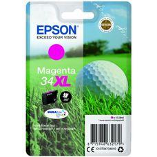 Eredeti Epson 34XL nagy kapacitású magenta patron 10,8 ml (T3473)
