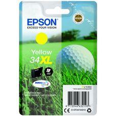 Eredeti Epson 34XL nagy kapacitású sárga patron 10,8 ml (T3474)