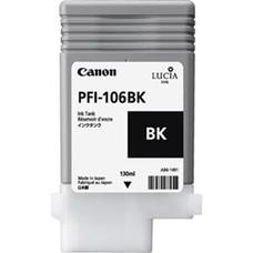 Eredeti Canon PFI-106BK fekete patron (130ml)