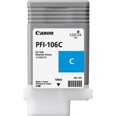 Eredeti Canon PFI-106C ciánkék patron (130ml)