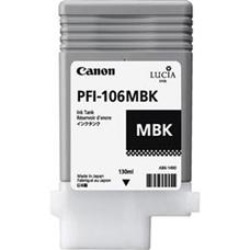 Eredeti Canon PFI-106MBK matt fekete patron (130ml)