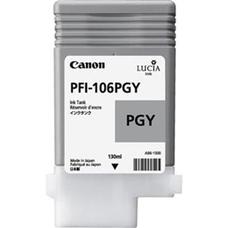 Eredeti Canon PFI-106PGY foto szürke patron (130ml)