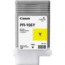 Eredeti Canon PFI-106Y sárga patron (130ml)